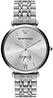 Emporio Armani Women's AR1819 Retro Silver Watch