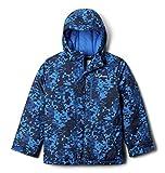 Columbia Boys' Little Lightning Lift Jacket, Bright Indigo Weave Print, Small