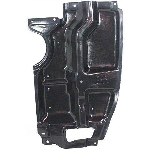Evan-Fischer Engine Splash Shield Plastic Engine Under Cover Passenger Side Right RH compatible with Scion tC