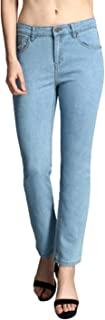 KOTTY Womens High Rise Cotton & Lycra Skinny Jeans(Blue,26)