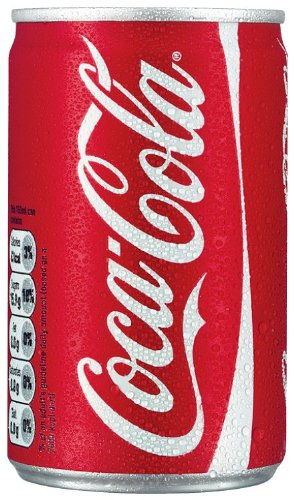 Coca-Cola Coke 150ml Mini Can - 24 Pack