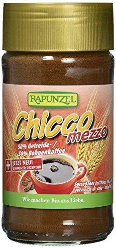 Rapunzel Chicco Mezzo Instant Getreide-Bohnenkaffee, 3er Pack (3 x 100 g)