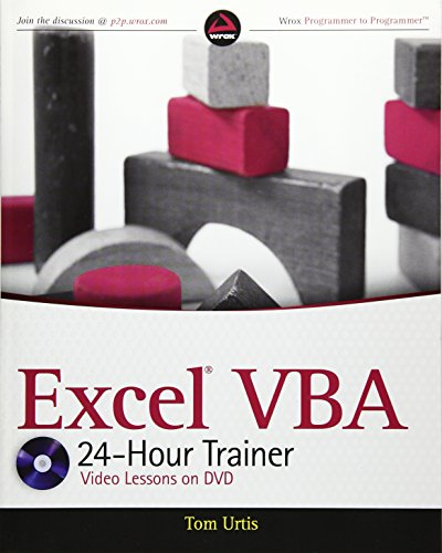 Excel VBA 24-Hour Trainer (Wrox Programmer to Programmer)