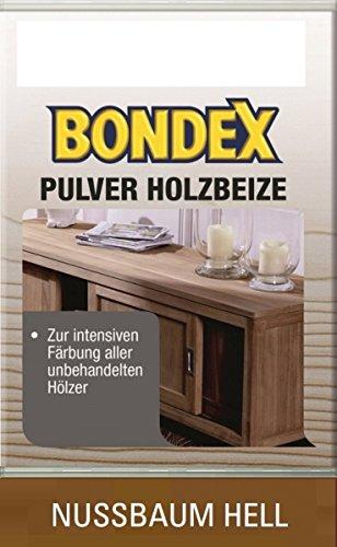 Bondex Pulverbeize Nussbaum Hell 5 g - 352535