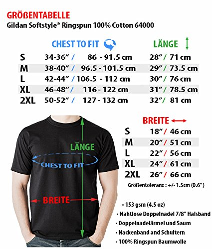 DTG MKWTees RS5 T-Shirt A5 S5 Black 100% Cotton (XL, Black)