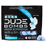 Best Bathroom Deodorizers - Dude Products Bombs Deodorizing Toilet Freshener, Fresh Scent Review