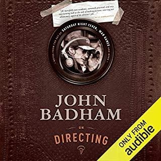 John Badham on Directing audiobook cover art