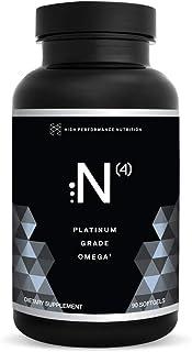 HPN N(4) Icelandic Omega-3 Fish Oil, 3,000 mg DHA & EPA   Increase Muscle Growth, Joint, Brain, and Heart Health   No Heav...