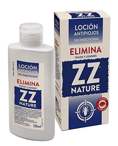 ZZ Loción Capilar Antipiojos, sin Insecticidas, Elimina Piojos y Liendres, Apto para Toda la Familia, Niños a Partir de 2 Años