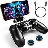 WEPIGEEK PS4 - Soporte de teléfono para PS4,inalámbrico, Compatible con Playstation Pro/Slim...