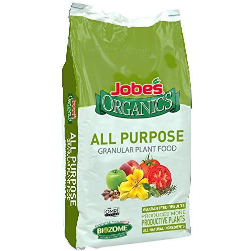 Jobe's Organics 09524 Purpose Granular Fertilizer, 16 lb