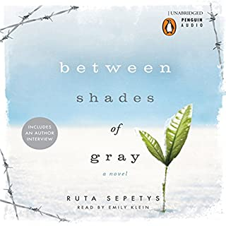 Between Shades of Gray audiobook cover art