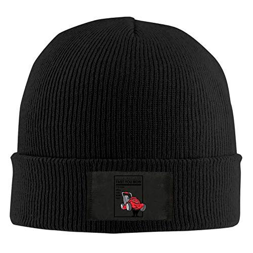 Happy Christmas Schneemann Herren und Damen Warme Wollmützen sind modisch, weich und elastisch täglich gerippte Schlittenhüte, geeignet für kaltes Wetter, schwarz Gr. Einheitsgröße, black11