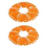 Supvox Paquete de Hielo para El Pecho de 2 Unidades Almohadillas de Gel para Lactancia en Frío Caliente Paquetes de Gel para El Pecho Paquete de Gel para Bajar La Leche para Lo Esencial