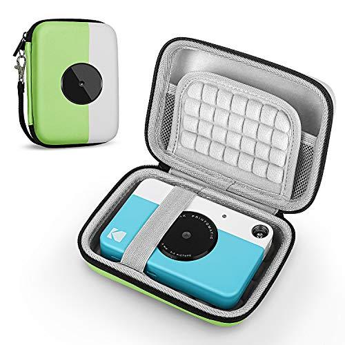 Fromsky Tasche für Kodak Printomatic/Smile Digital Instant Print Kamera, Reisetasche Schutzhülle, grün