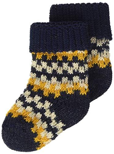 FALKE Socken Structure Baumwolle Kaschmir Größe 62-92 Baby grau blau viele weitere Farben kurze Babysocken mit Motiv dick bunt gestreift Norwegermuster 1 Paar