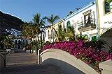 Diy 5D Kit De Pintura De Diamante Gran Canaria Pintura Punto De Cruz Taladro Completo Cristal Para Decoración De La Pared Del Hogar Regalo 30X40cm