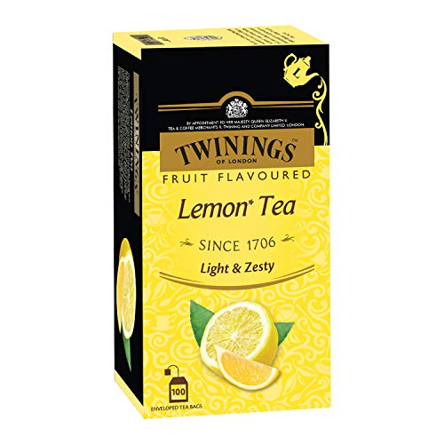 Twinings Lemon Tea, 100 Tea Bags
