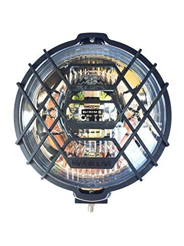 Rund Chrom Halogen Fernscheinwerfer Zusatzscheinwerfer 183 mm 12V 24V E20