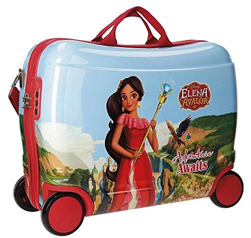 Disney Elena de Avalor Adventure Maleta Infantil Multicolor 50x38x20 cms Rígida ABS Cierre combinación 34L 2,3Kgs 4 Ruedas Equipaje de Mano