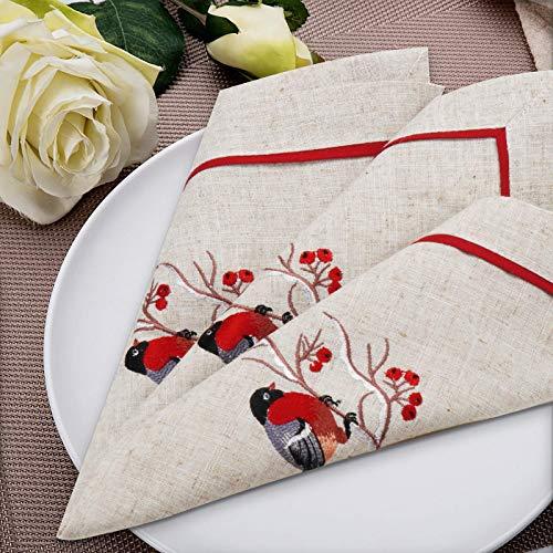 mantel con servilletas de tela a juego de la marca Dolcal