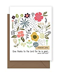 thank you note with bible verse