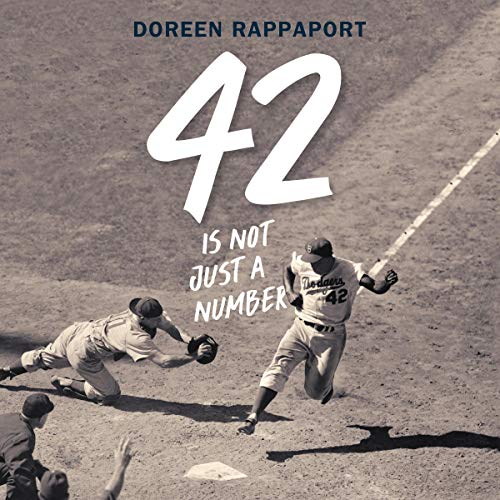 42 Is Not Just a Number audiobook cover art
