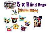 Hasbro Furby Boom 2-Inch Mini Furbling Mystery Pack, Set of 5