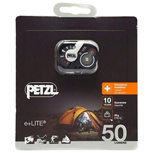 PETZL, e+LITE, 50 Lumens, Emergency Headlamp with Carry Case