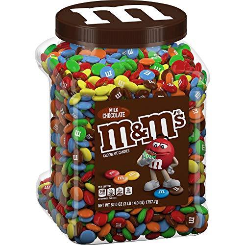 MampM#039S Milk Candies Jar Chocolate 62 oz