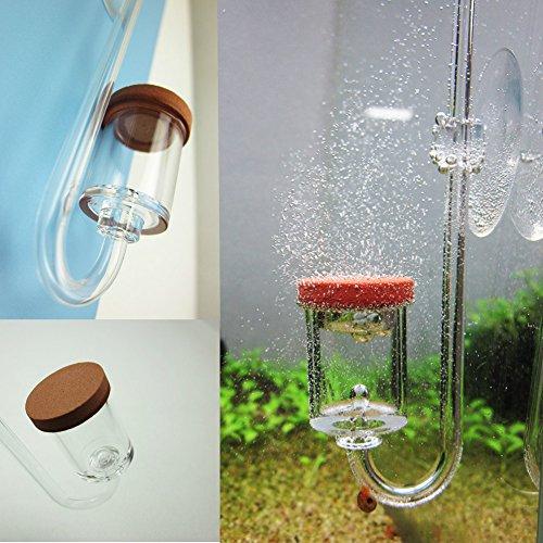 CO2ディフューザー CO2拡散器 水草水槽 バブルカウントディフューザー水草飼育 二酸化炭素添加