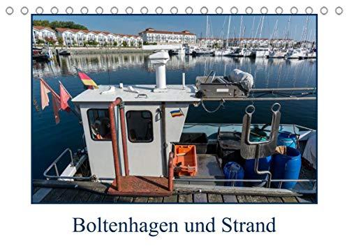 Boltenhagen und Strand (Tischkalender 2022 DIN A5 quer)