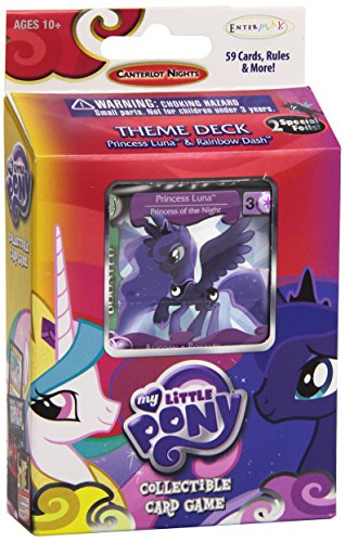 Enterplay 33210 - My Little Pony Canterlot Nights Theme Deck, Englisch