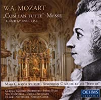 Cosi fan Tuti Messe by German Mozart Orchestra (2013-08-05)