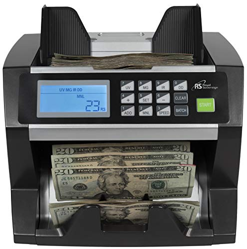 Royal Sovereign High Speed Money Counting Machine, with UV, MG, IR...