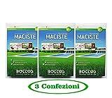 maciste - sementi per tappeto erboso - ideale per zone aride - 1 kg - offerta 3 confezioni