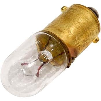 T-3.25 3.36 W Double Filament Box of 10 Bulbs #1898 14 V BA9s Base
