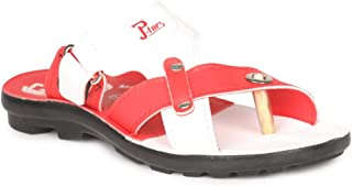 PARAGON Kid's Red P-Toes Sandal