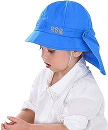 lachi Chapeau de Soleil Enfant Bébé UV50 + Protect