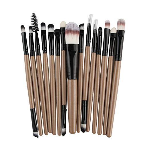 HOUXIAONI Kit De Pinceaux De Maquillage Start The Day Beautifully Kit pour Fard à Paupières Foundation,16-OneSize