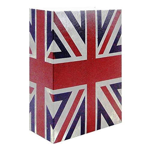 Cofre Livro Aço 2mm Book Safe KBS-802 DS1697 24cm England