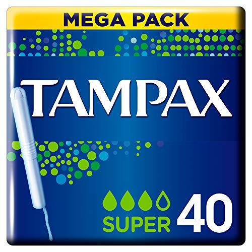 Tampax Clasico - Tampones Super 40 uds