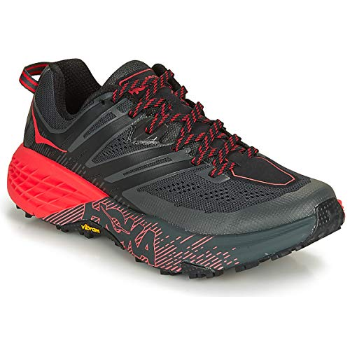 Hoka One One Women's Speedgoat 3 - Dark Shadow / Poppy Red - 7