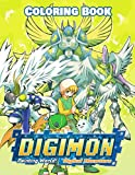 Painting World! - Digimon Digital Monsters Coloring Book: Perfect Gift For True Fans, Adults, Teenagers With Vivid Illustrations of デジタルモンスター