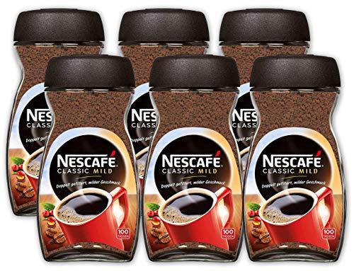 Nescafe Classic 6 x 200g, Mild