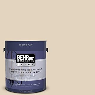 BEHR Premium Plus Ultra 1-Gal. No.UL160-13 Ceiling Tinted to Wax Sculpture Interior Paint