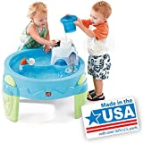 Kids' Splash Water Table Toy Outdoor Play Includes Walrus, Bear and Penguin Squirt Toys
