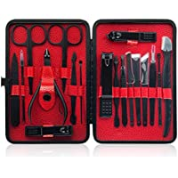 Vicsainteck 18 In 1 Stainless Steel Professional Pedicure Kit