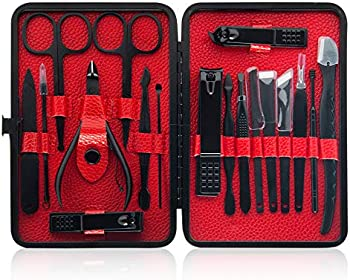 Vicsainteck 18 In 1 Stainless Steel Professional Pedicure Kit