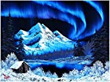 Fun Challenge: Unlock the joy of painting with this Bob Ross jigsaw puzzle, featuring a snowy landscape with the Northern Lights shining in the night sky. Let your imagination soar and test your problem-solving skills with this fun interactive game. ...